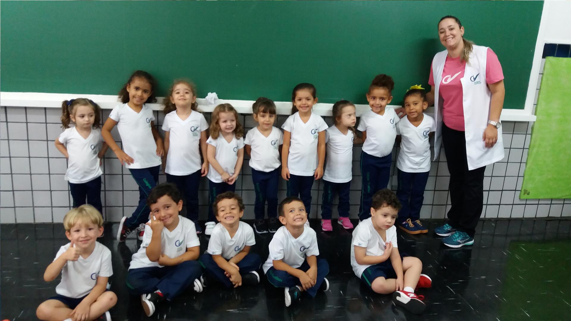 [Primeiro Dia de Aula - Educação Infantil e Fundamental I - Tarde]