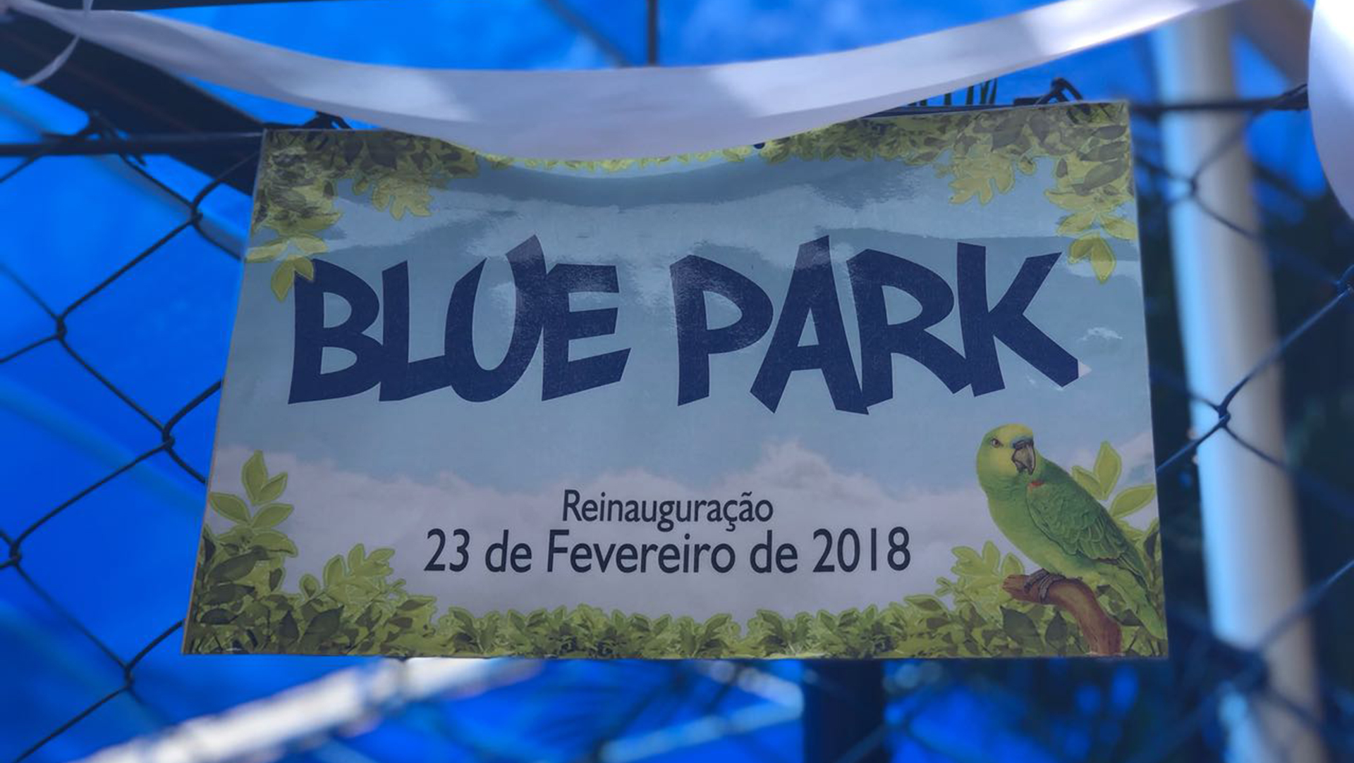[Inauguração do Blue Park]