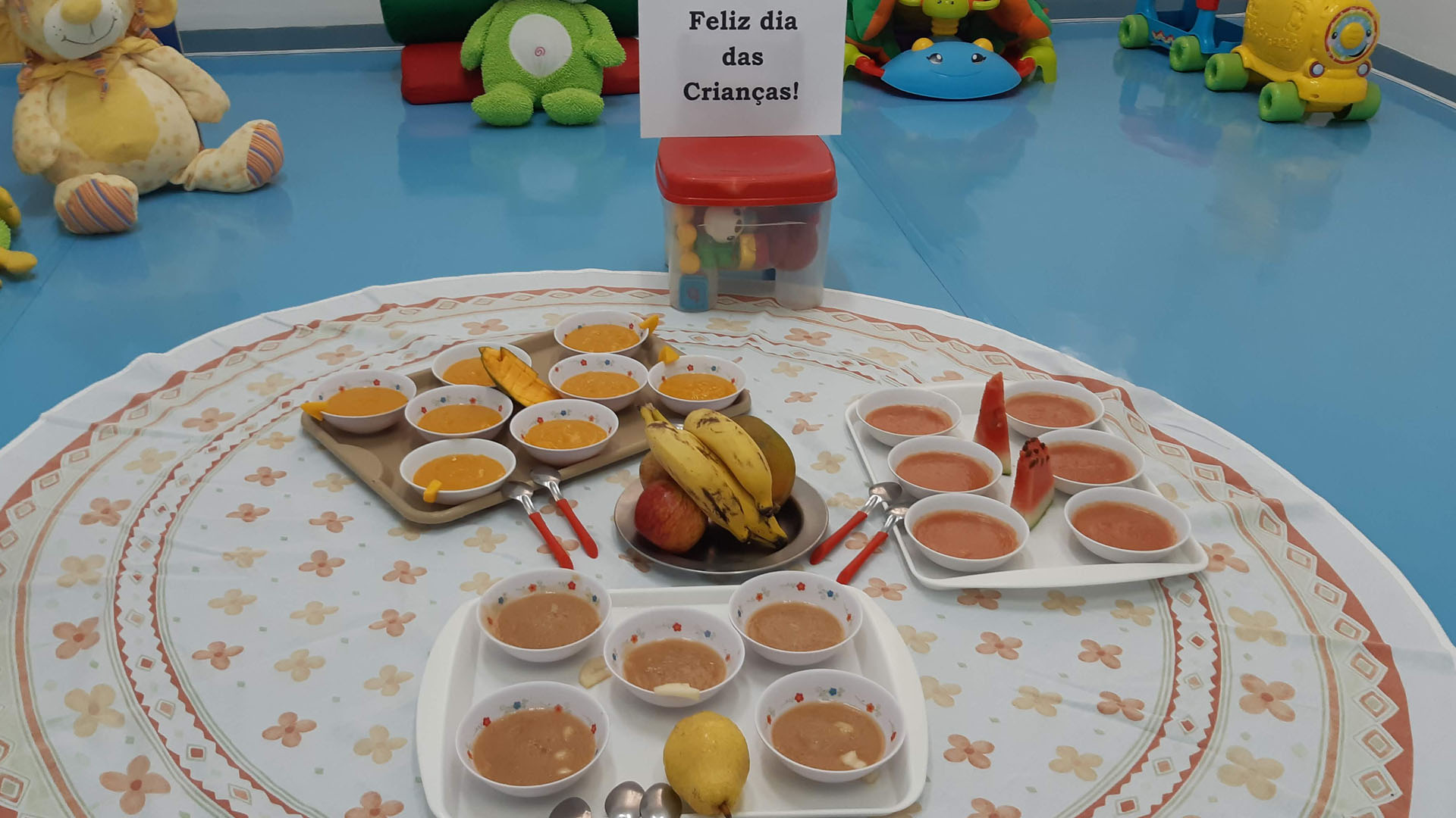 [Berçário - Semana das Crianças - Piquenique de Frutas]