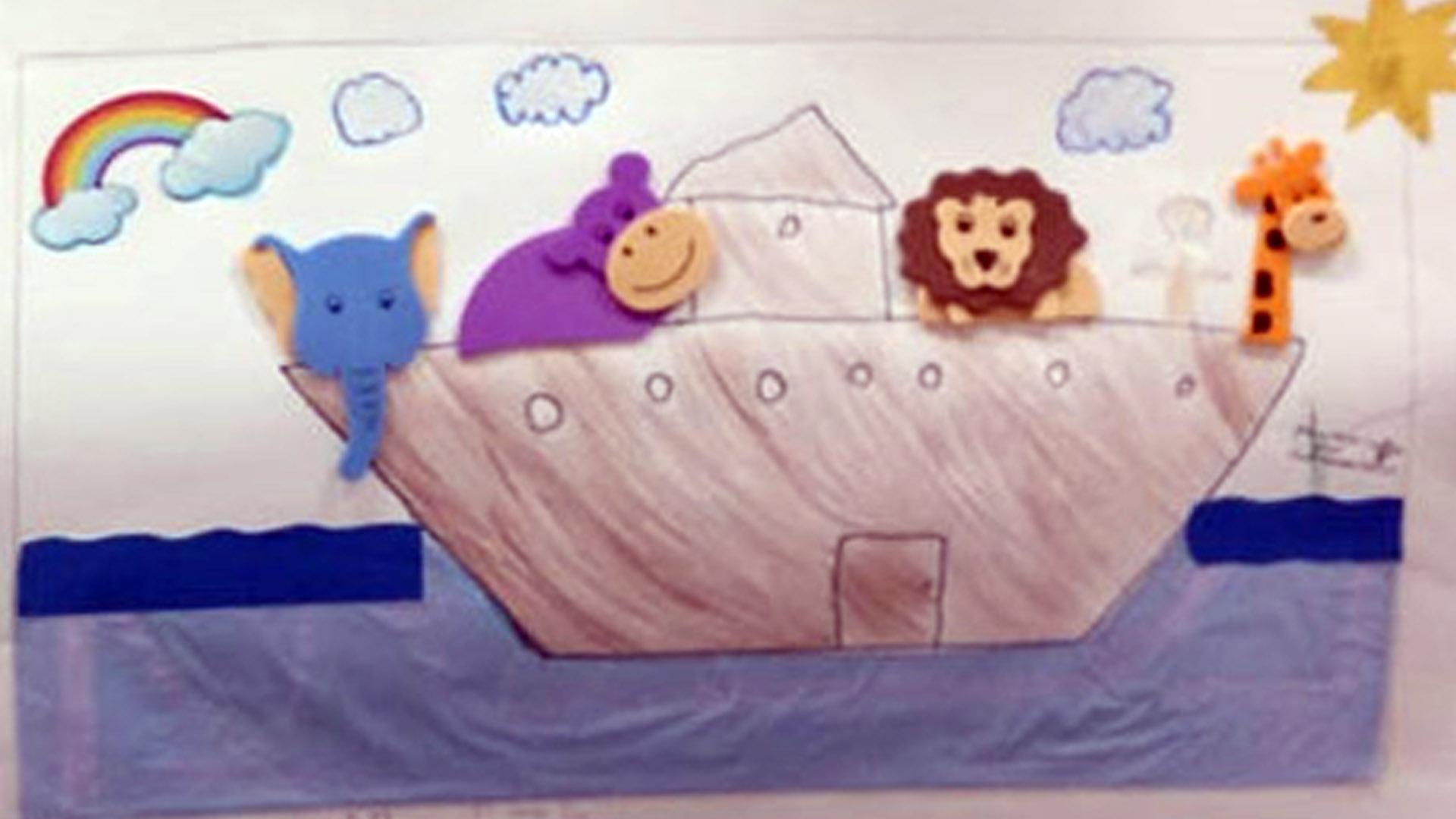 [Finalizando o Livro da Arca de Noé - 3° ano A ]