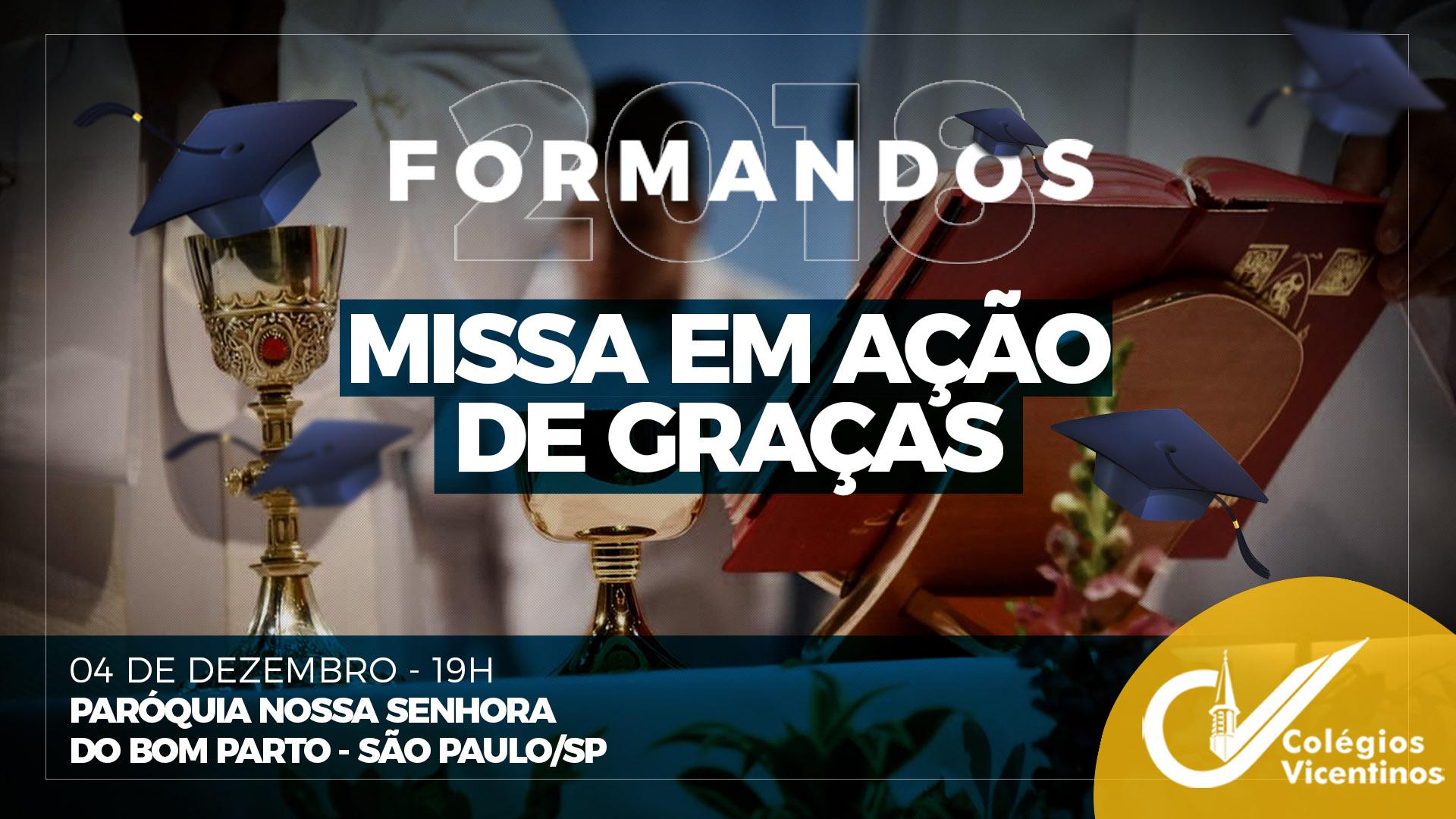 [Missa de Formatura São Paulo]