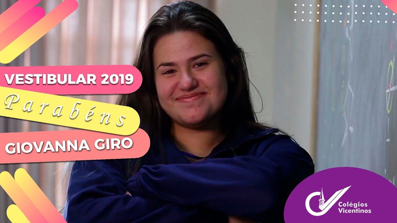 [Vestibular 2019, por Giovanna Giro]