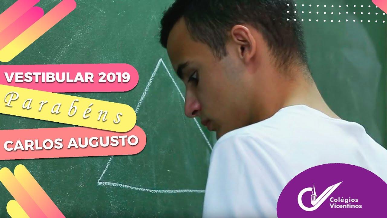 [Vestibular 2019, por Carlos Augusto]