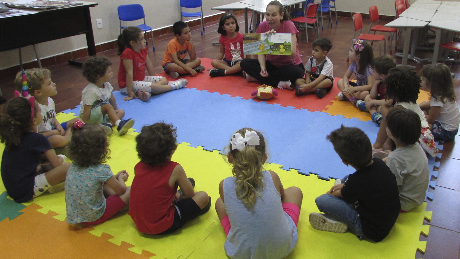 [Integral - Educação Infantil - Projeto Pintando o Sete - Contação de Histórias]