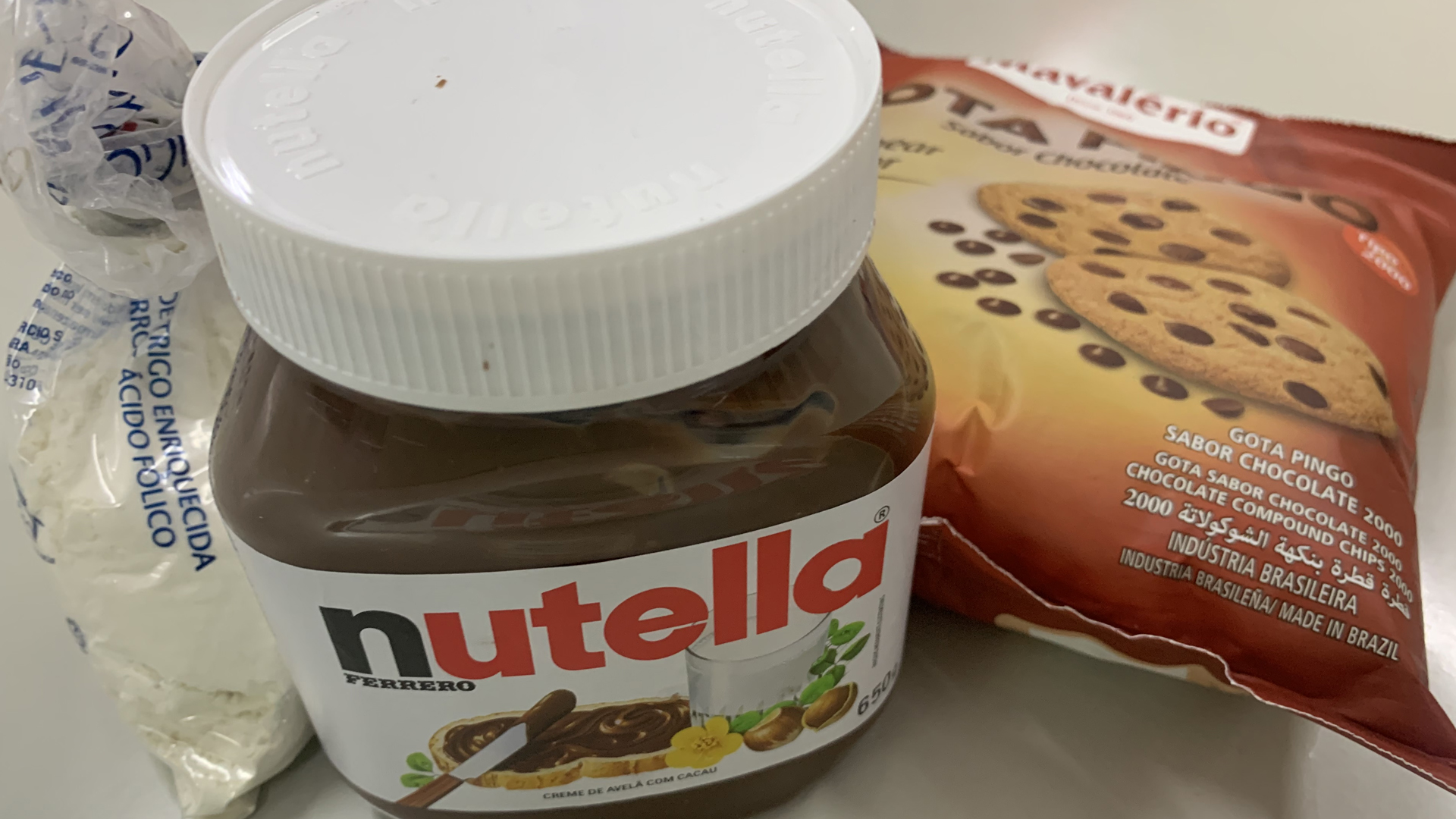 [Culinária: Cookie de Nutella - Integral 1 e 2]