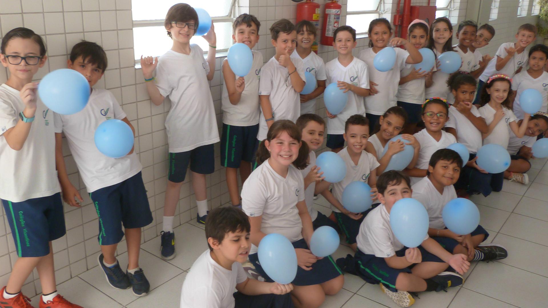 [Volta as aulas - Atividade com balões - 3°ano]