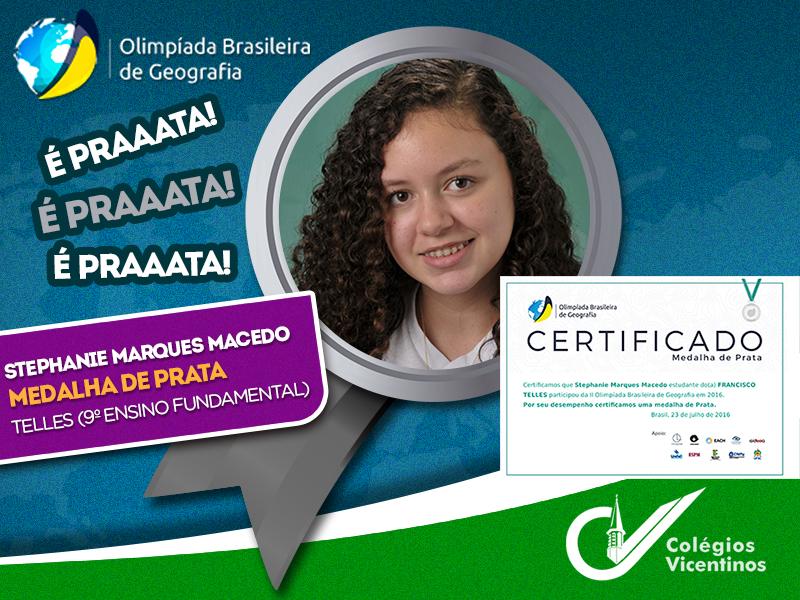 [Olimpíada Brasileira de Geografia ]