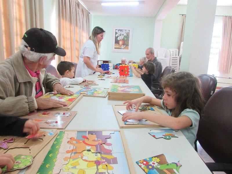 [Integral Educação Infantil - Visita ao Lar dos Idosos I]