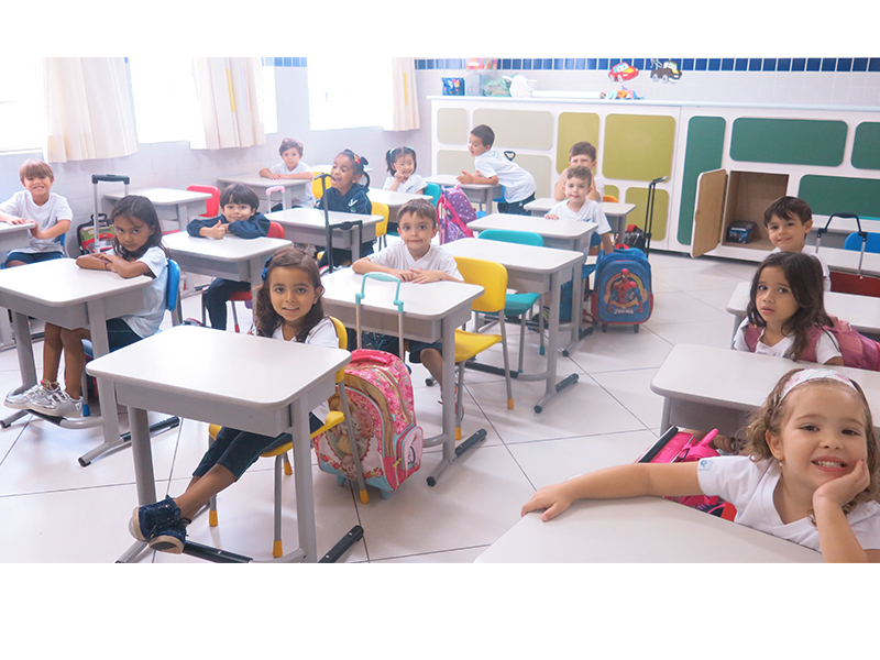 [1º Dia de Aula - Educação Infantil]